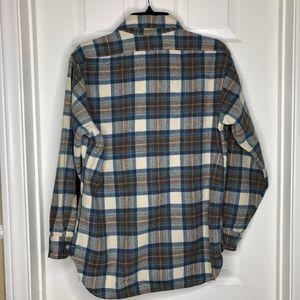 Pendleton Shirts - PENDLETON 100% Virgin wool  shirt L plaid USA